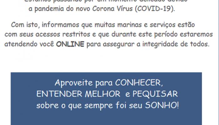 Comunicado Corona Vírus (COVID-19)